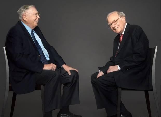 Warren Buffett y su socio Charlie Munger